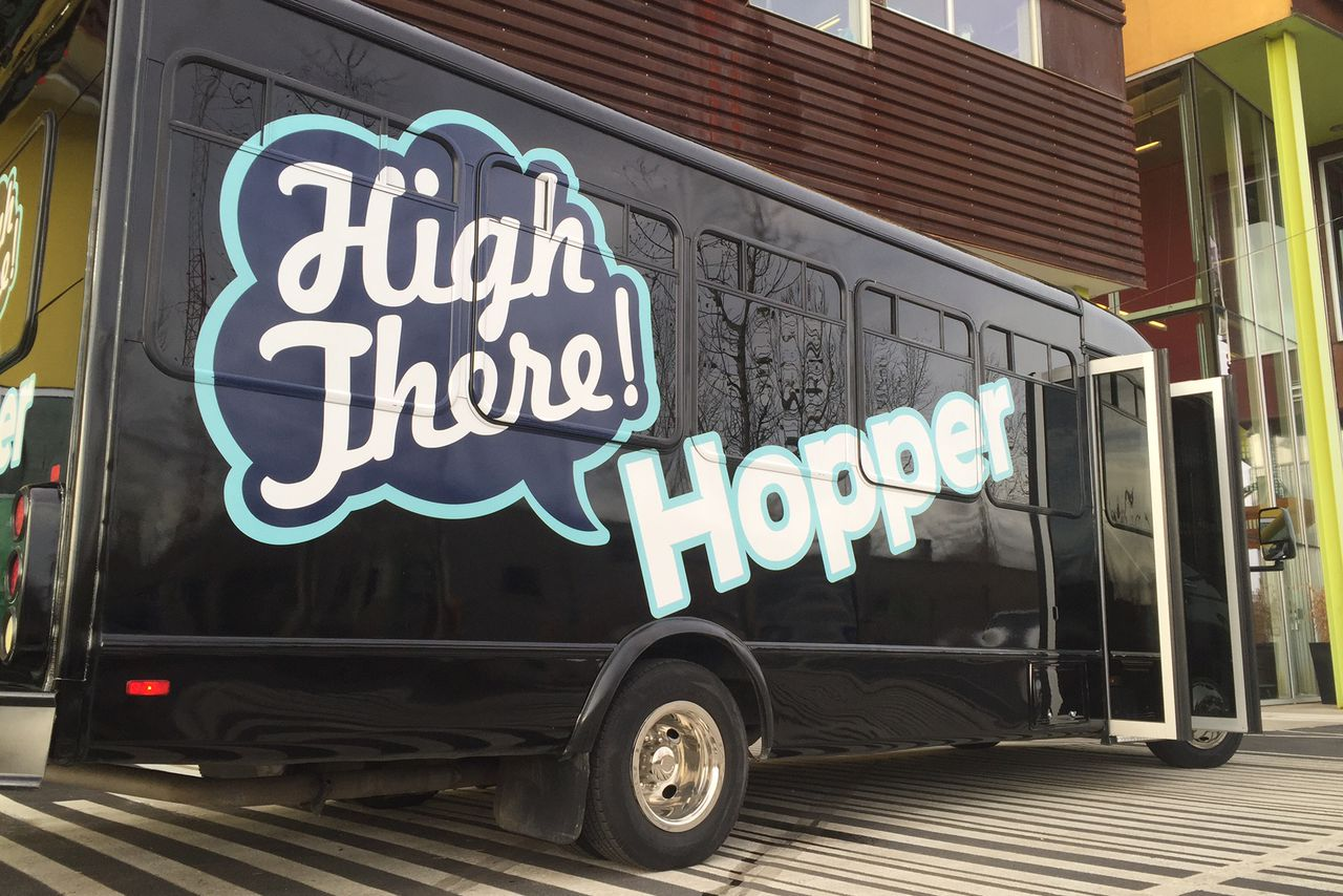 high there denver potheads party uber