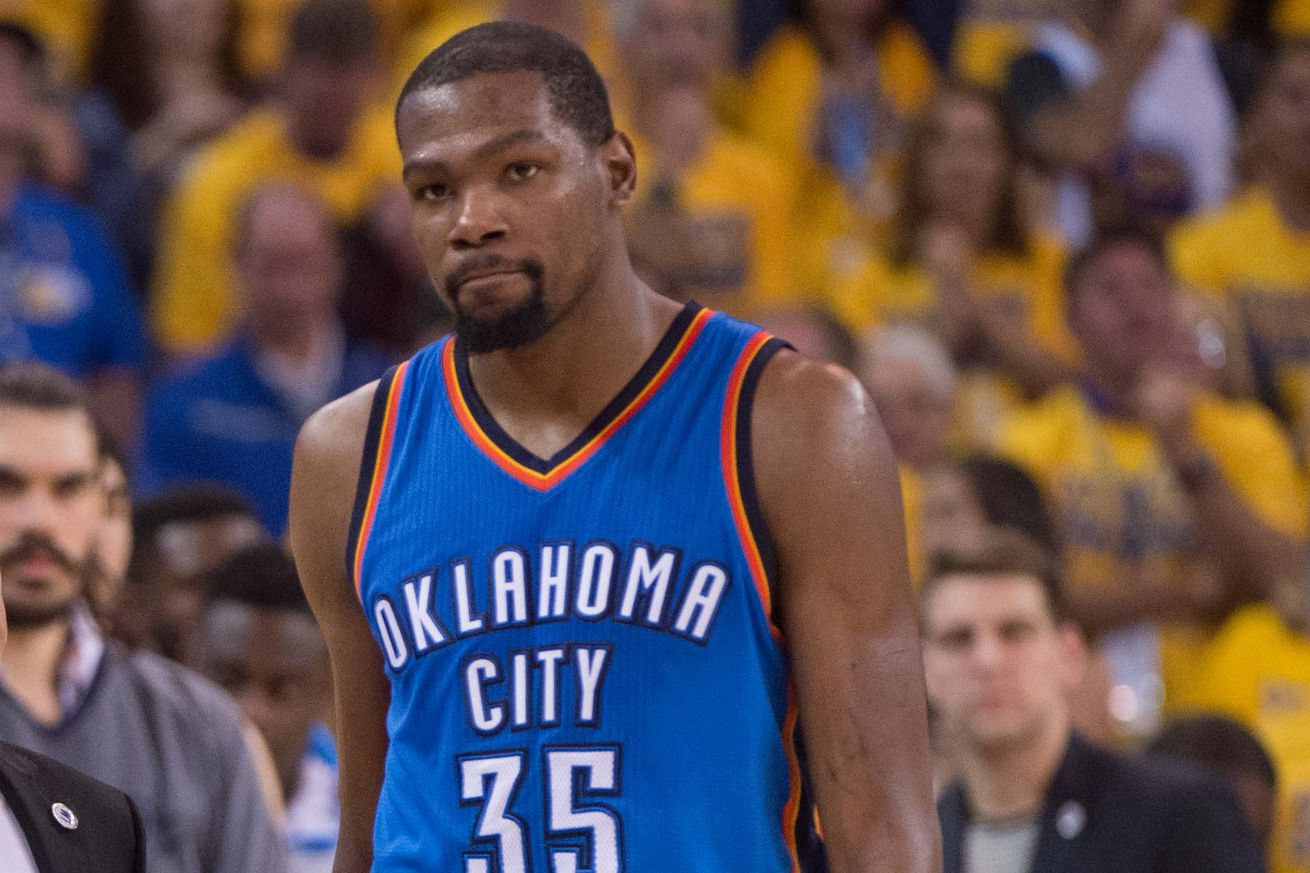 Kevin Durant on Oklahoma City: 'Those memories don't erase'