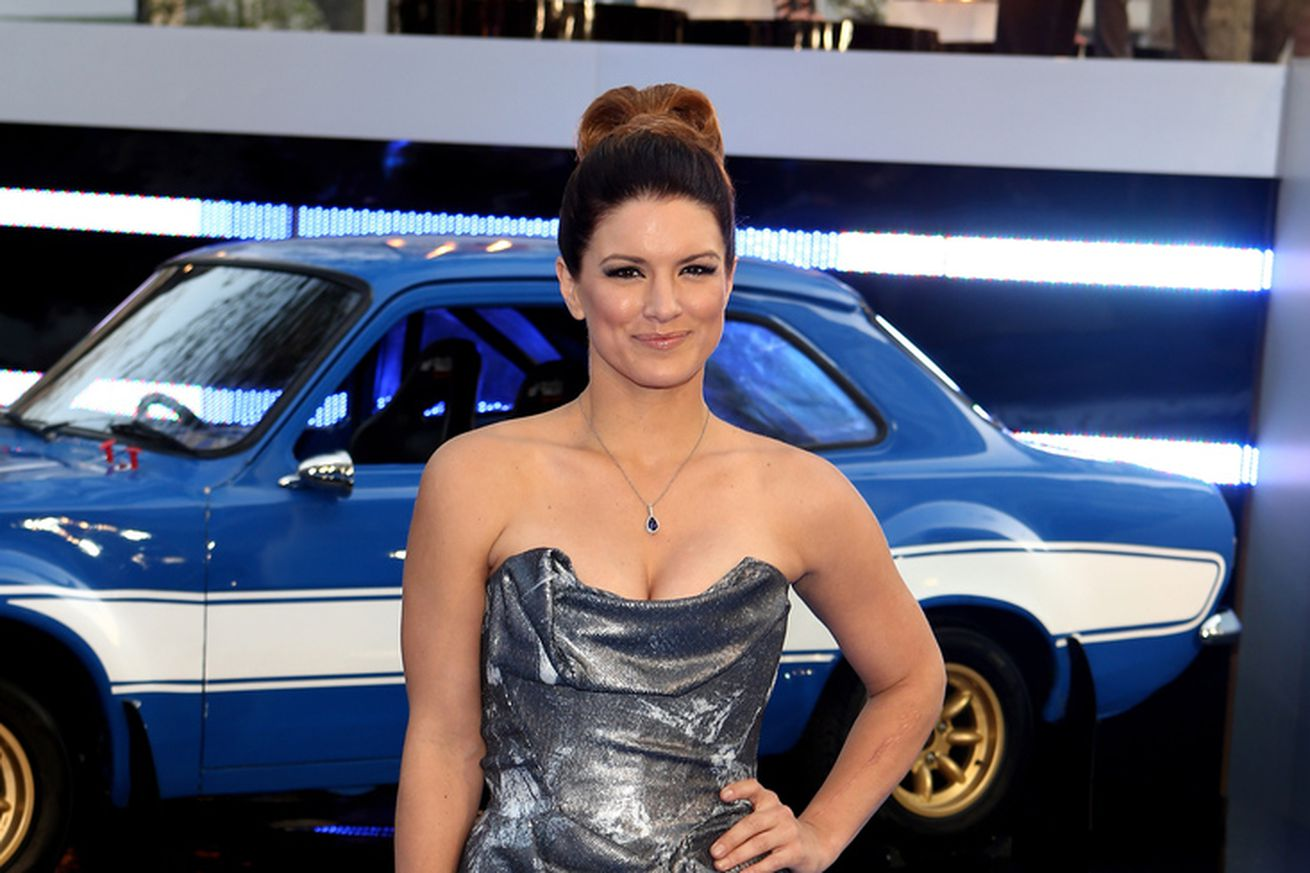 Video: Gina Carano featured in hilarious new Deadpool movie clip, 2 Girls, 1 Punch