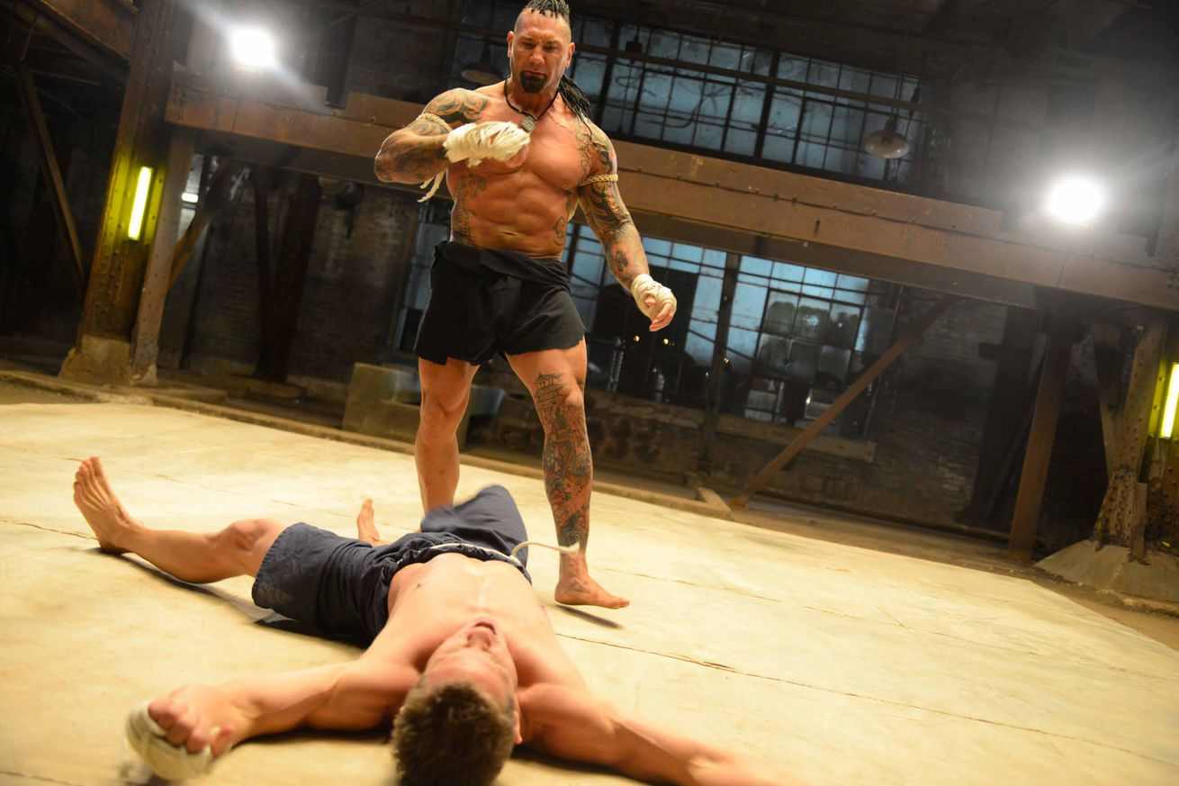 community news, Pic: First look at Dave Bautista fighting as Tong Po in Kickboxer Vengeance