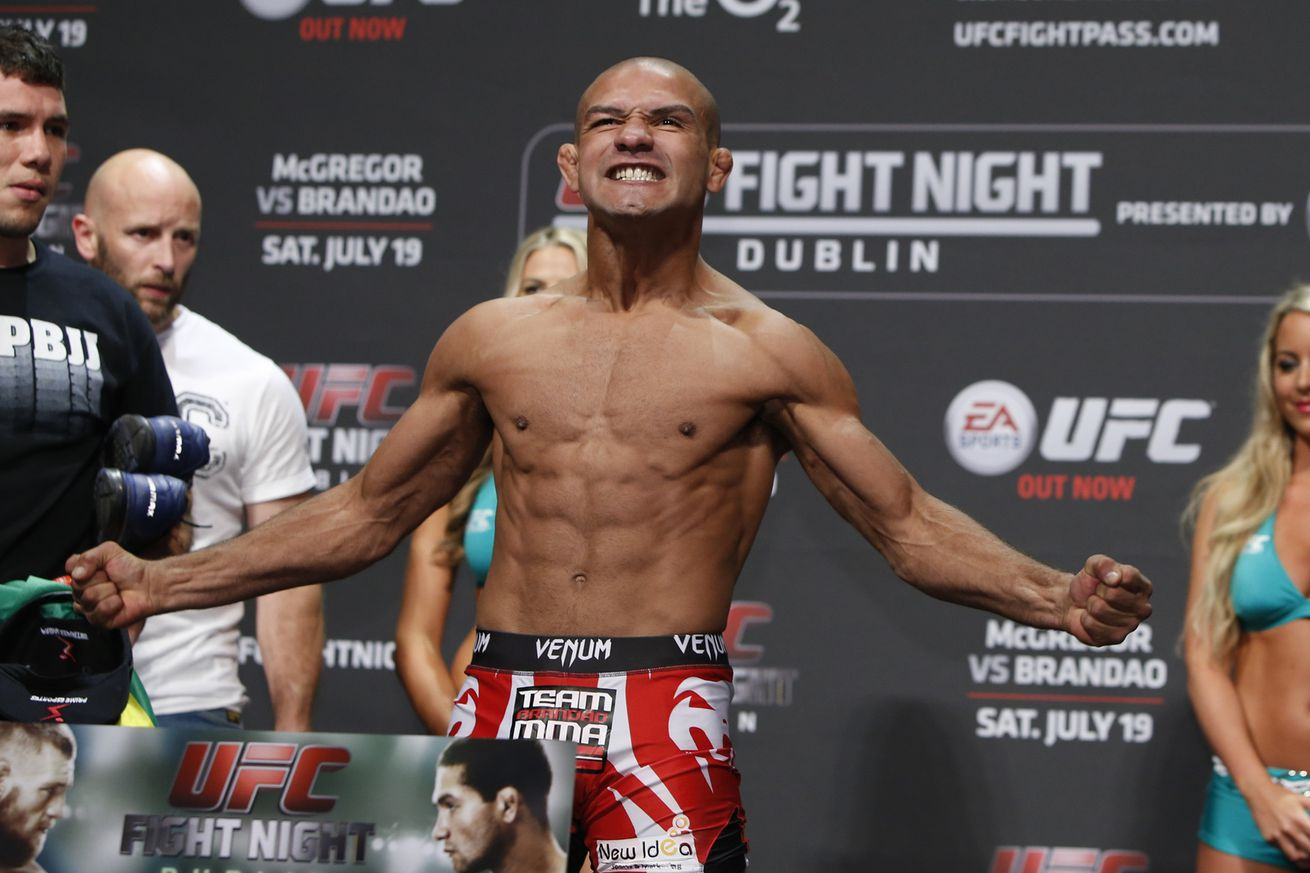 community news, Diego Brandao issued temporary suspension for UFC 195 failed drug test