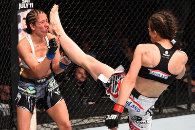 UFC Berlin results and video highlights: Joanna Jedrzejczyk retains Strawweight belt