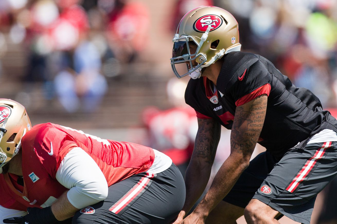 Colin Kaepernick on listening to trainers, QB competition, Trent Baalke relationship