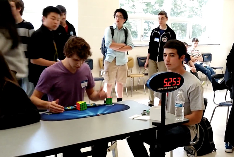 Teenager cuts nearly a third of a second off Rubik's Cube world record