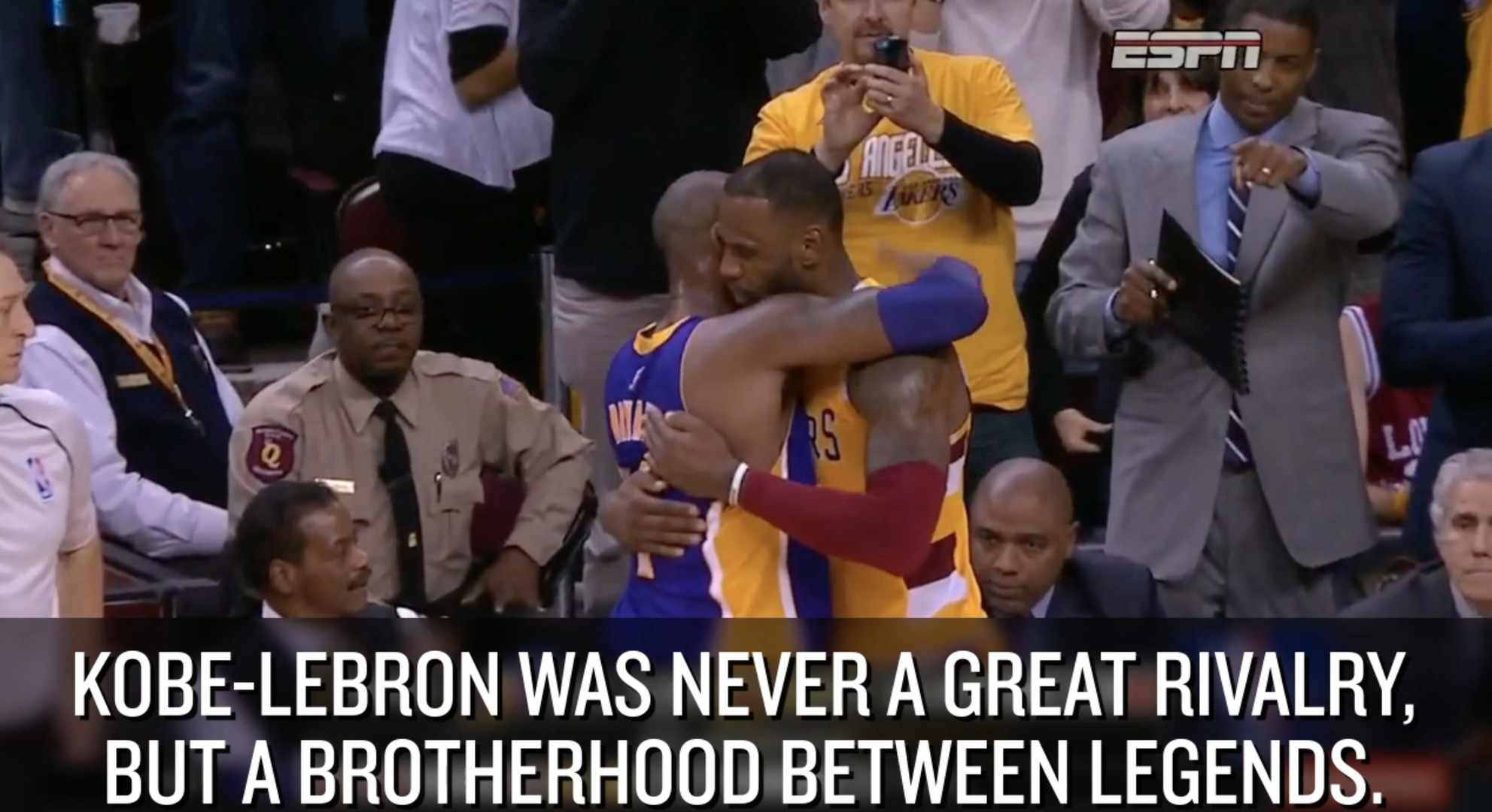 NBA scores 2016: Vintage Kobe Bryant nothing LeBron James and Cavaliers can't handle