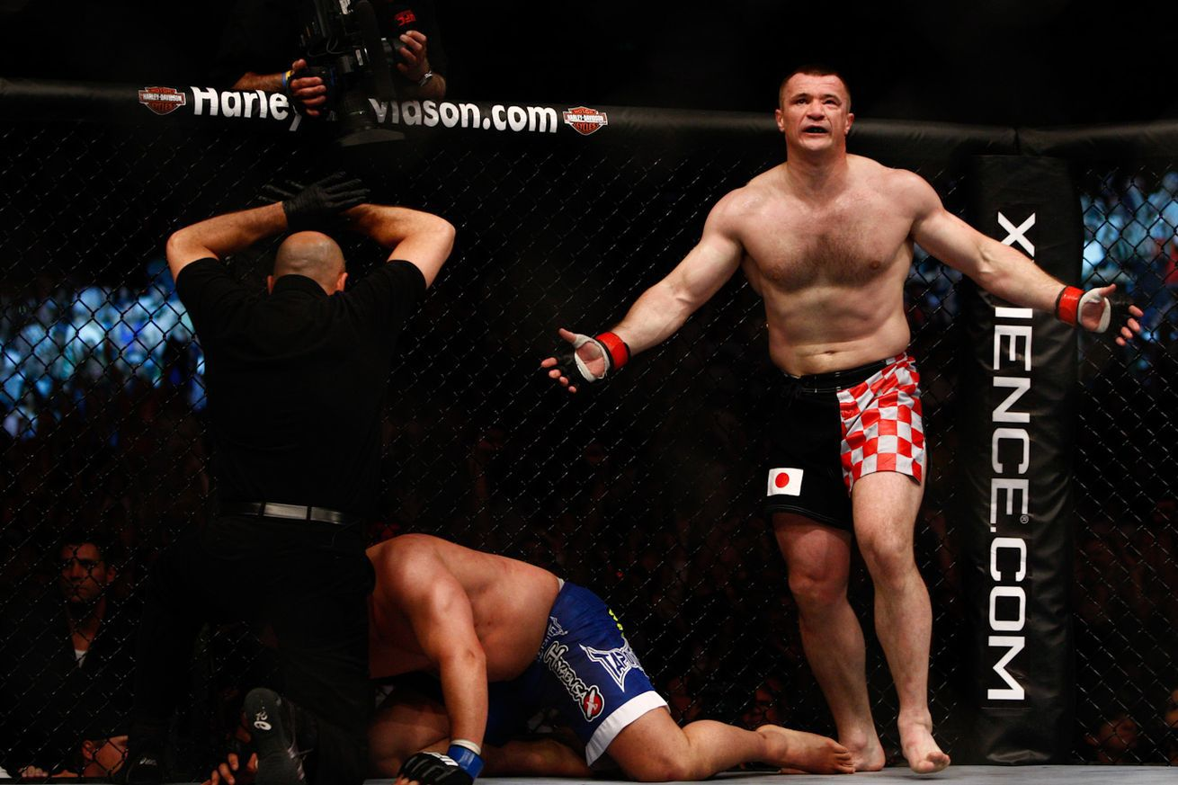 Mirko Cro Cop: USADA unfairly suspended me two years without ever failing a drug test