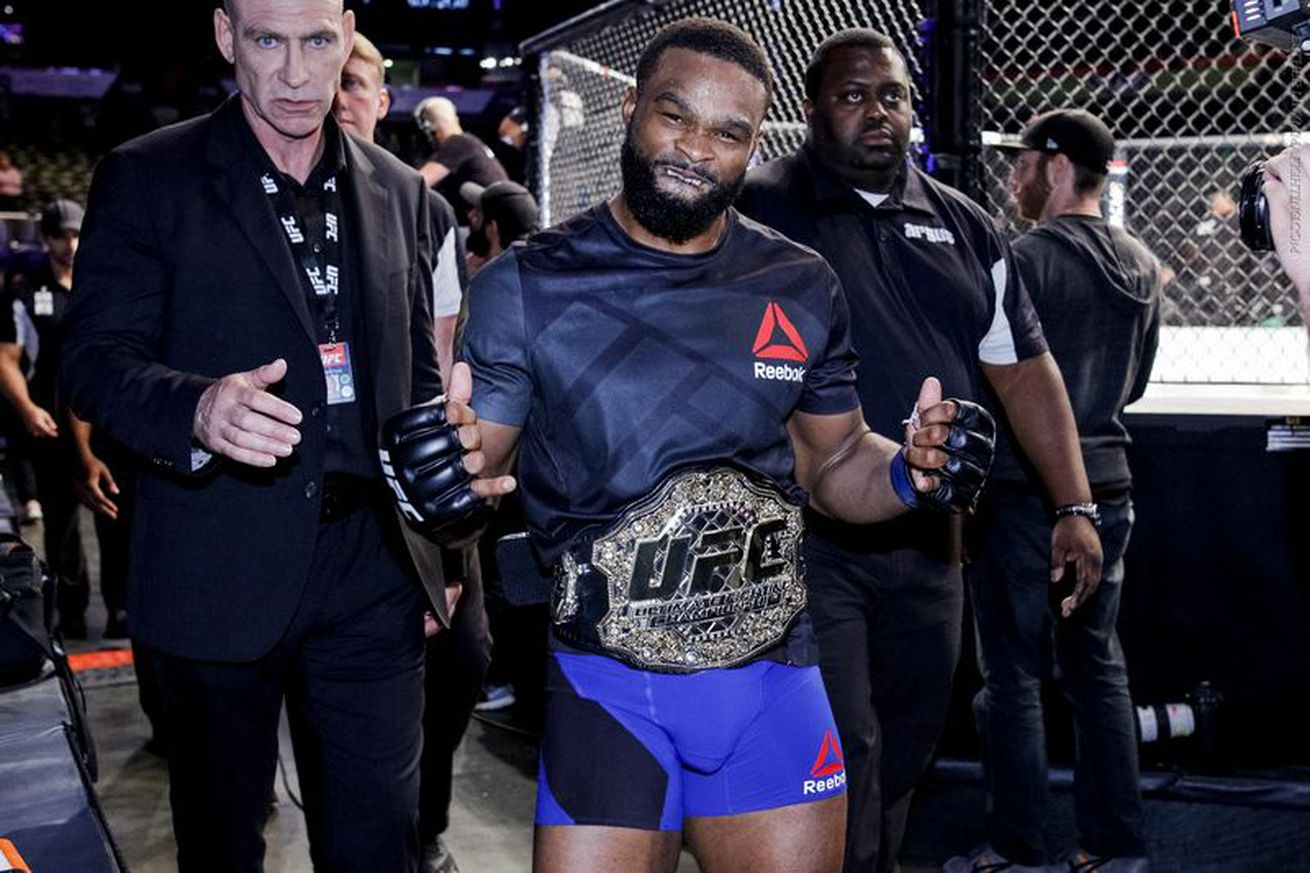 Tyron Woodley: Knocking out Robbie Lawler, Georges St Pierre and Nick Diaz cements me in UFC Hall of Fame