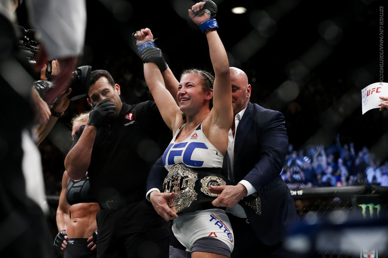 community news, Miesha Tate wonders if broken woman Ronda Rousey will ever come back the same