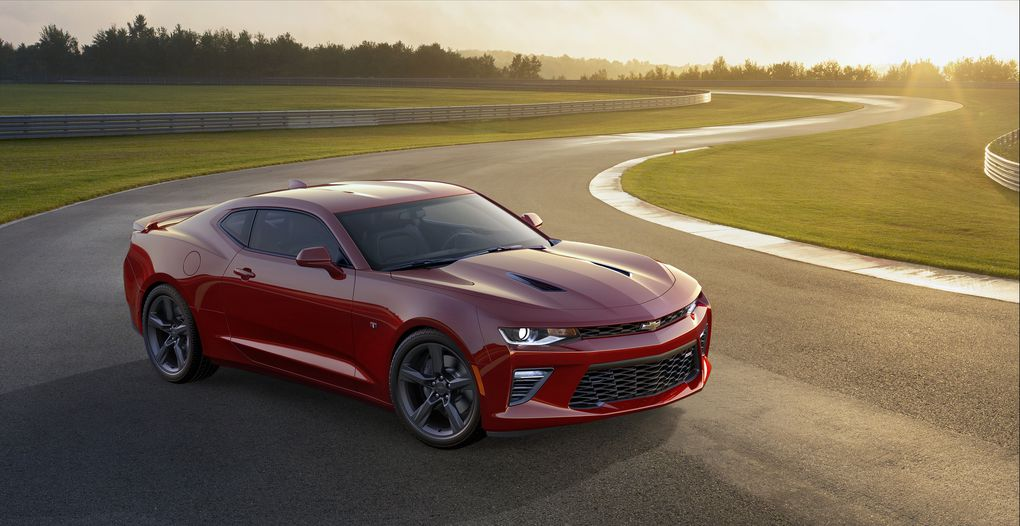 This is the 2016 Chevrolet Camaro!