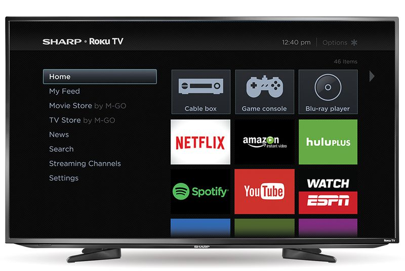 Sharp is Now Selling Smart TVs With Roku Built In