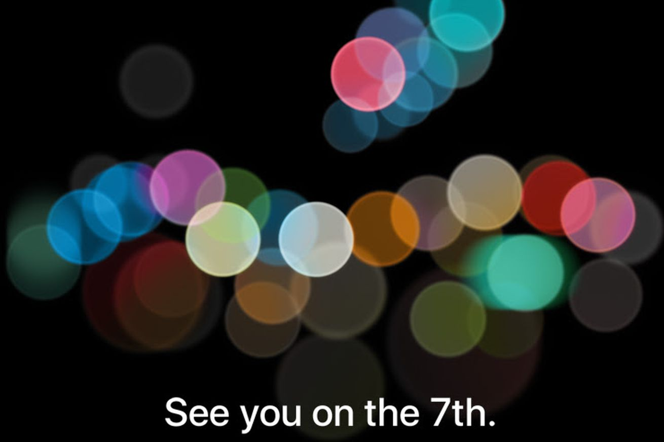 Apple's iPhone 7 event is happening on September 7th