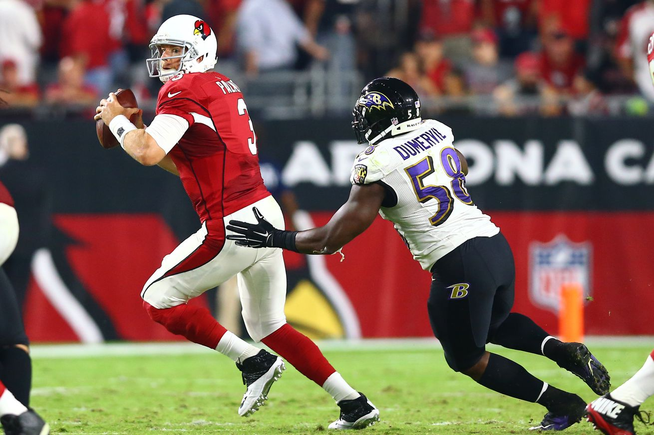 Nike authentic jerseys - Baltimore Ravens linebacker Elvis Dumervil named to his 5th pro ...