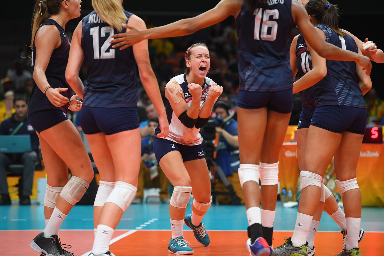 Rio Olympics: US women beat Dutch to take volleyball bronze