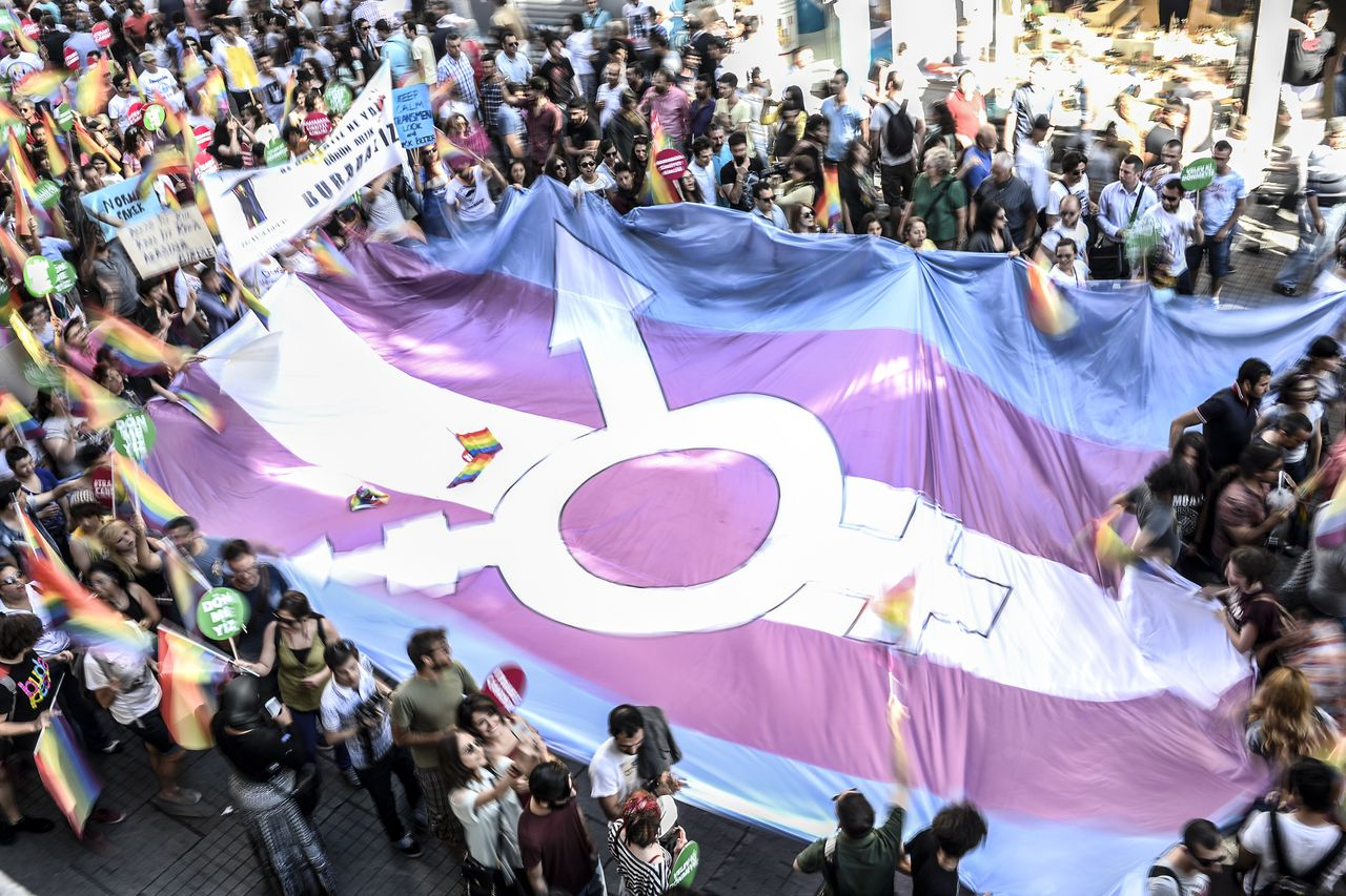 transgender myths Members of the lesbian, gay, bisexual and transgender community dispelled myths and described their coming out during a panel discussion held in honor of lgbt pride month at the mcnamara headquarters complex june 20 ,.