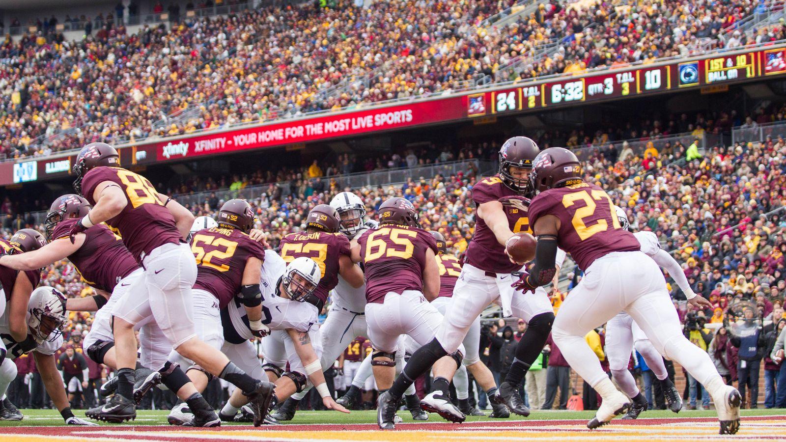 Minnesota Gophers Football Spring Game Recap: The Matt ...