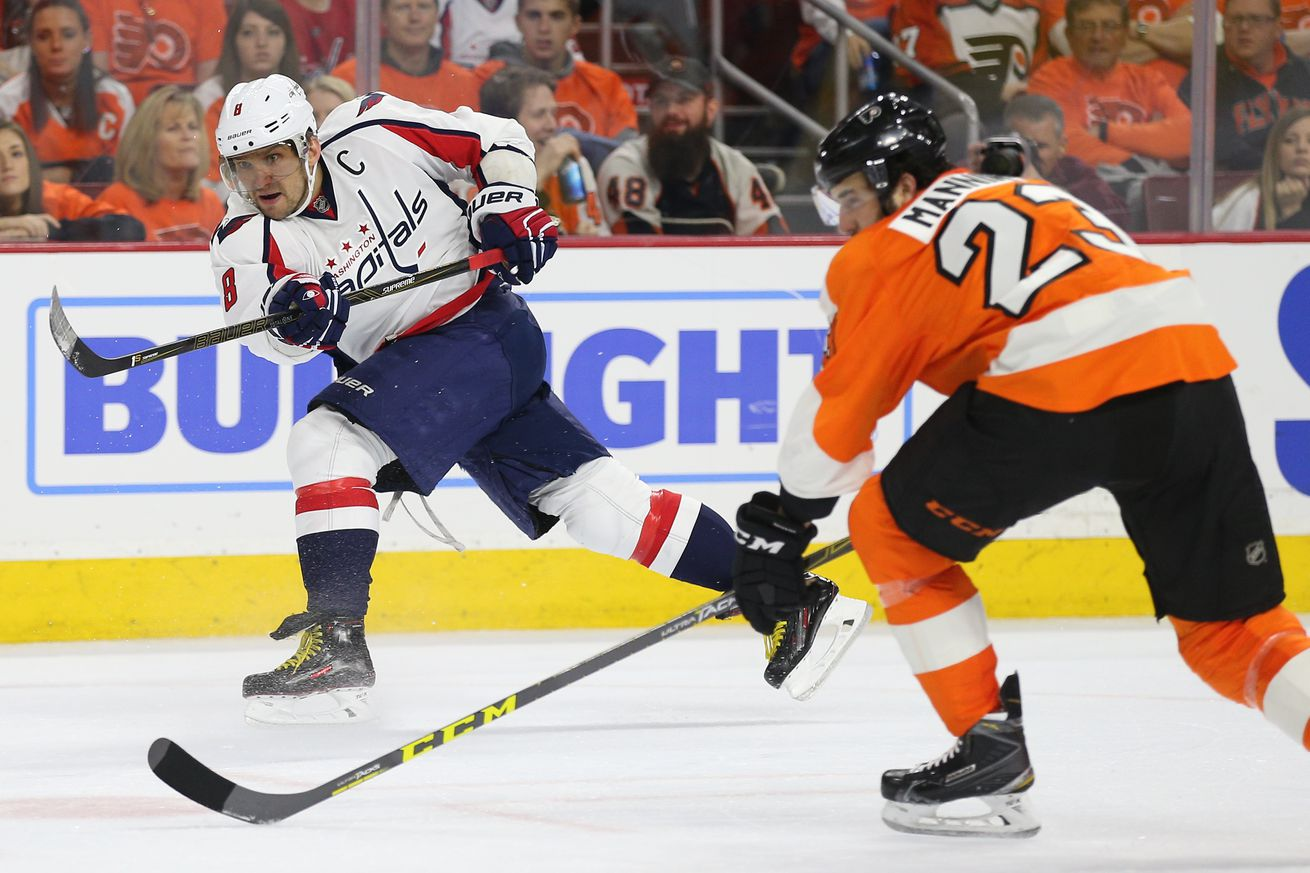 NHL Playoffs: Flyers fend off Capitals, 2-0, to stay alive