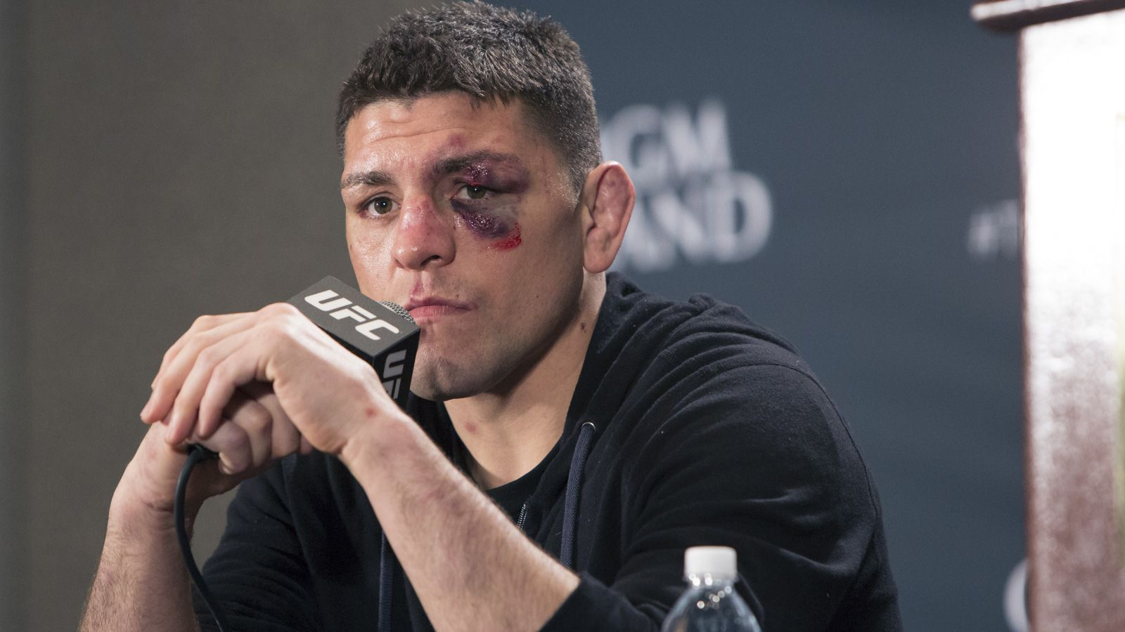 how tall is nick diaz