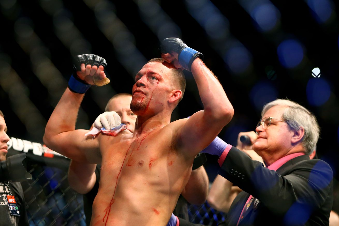 Boxing coach: Nate Diaz close to 200 pounds ahead of fight with McGregor