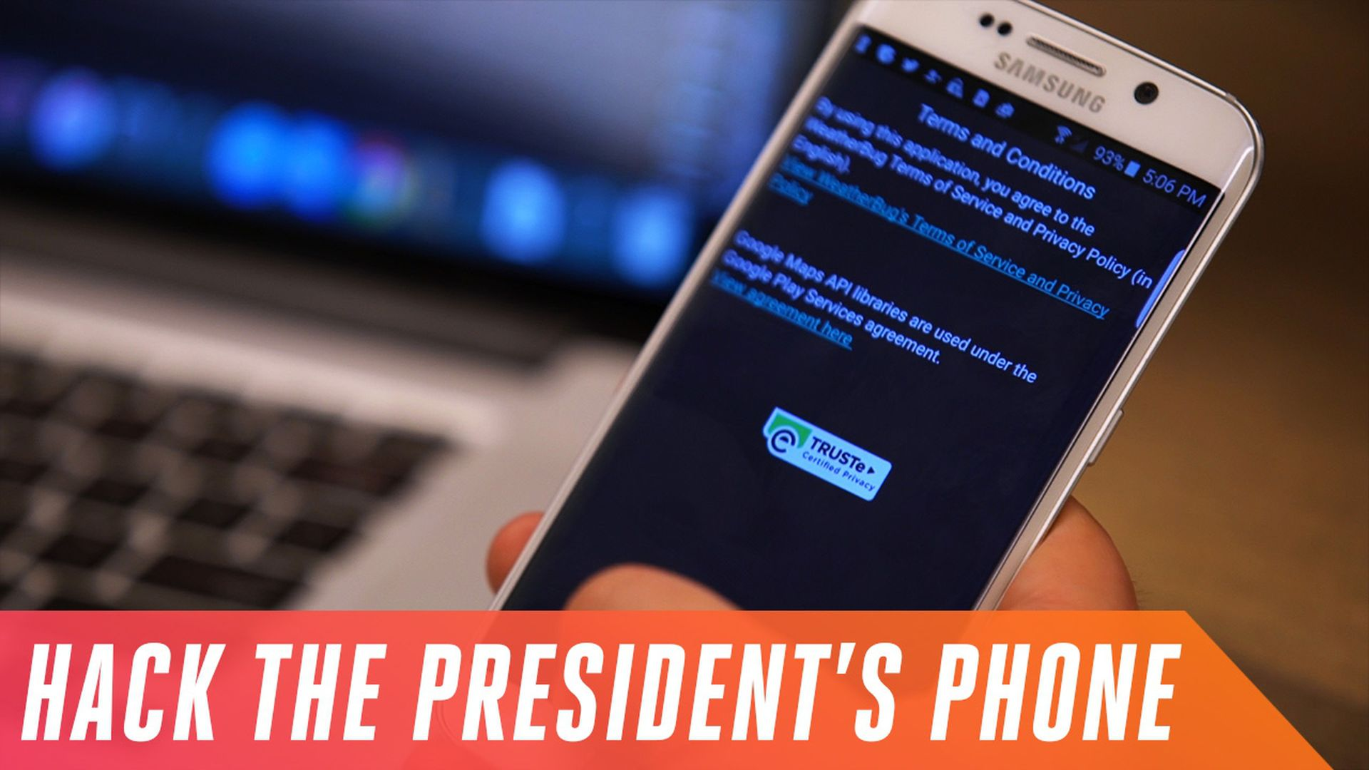 Here's how easy it is to hack Donald Trump's phone - The Verge