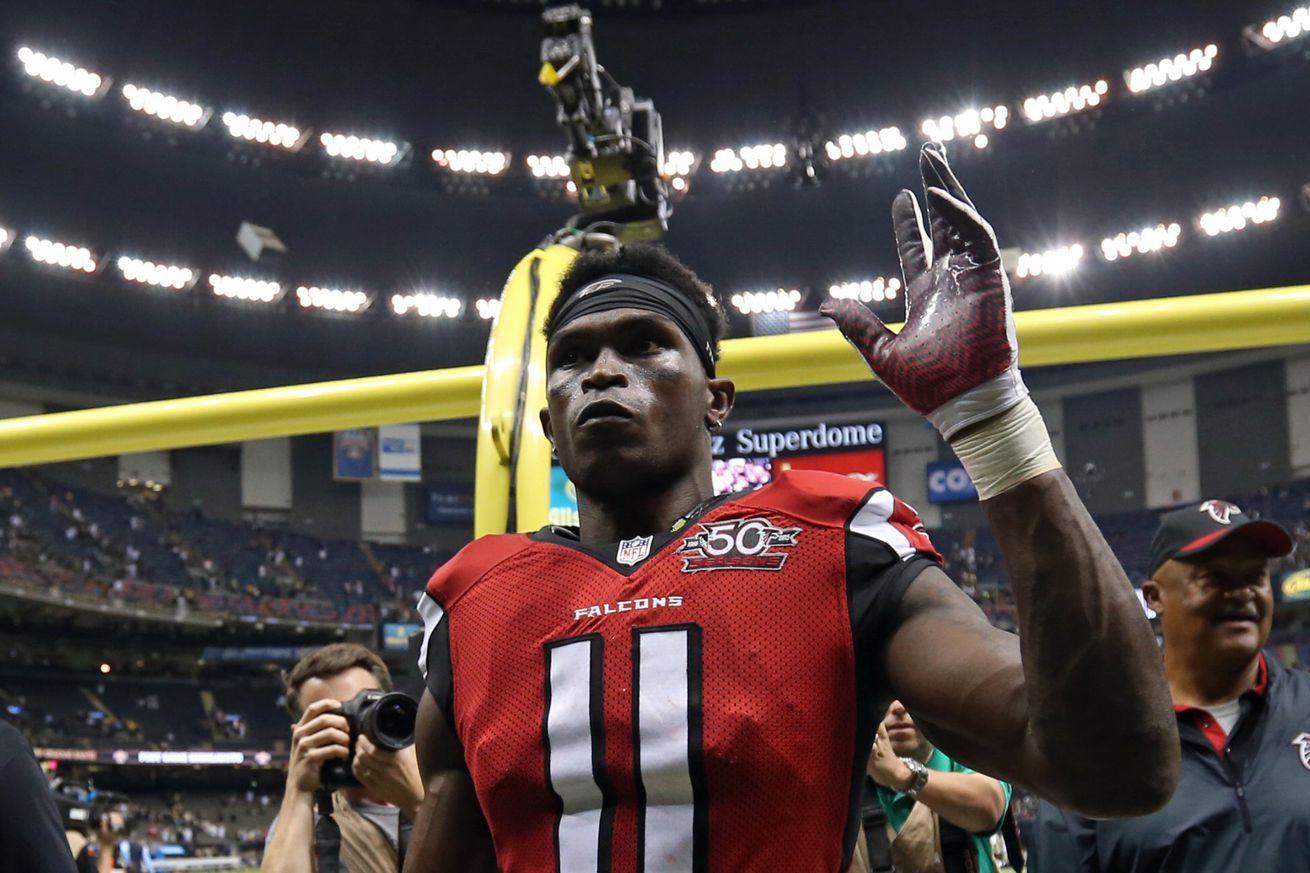 Jerseys NFL Wholesale - Atlanta Falcons vs. New Orleans Saints post-game injury report ...