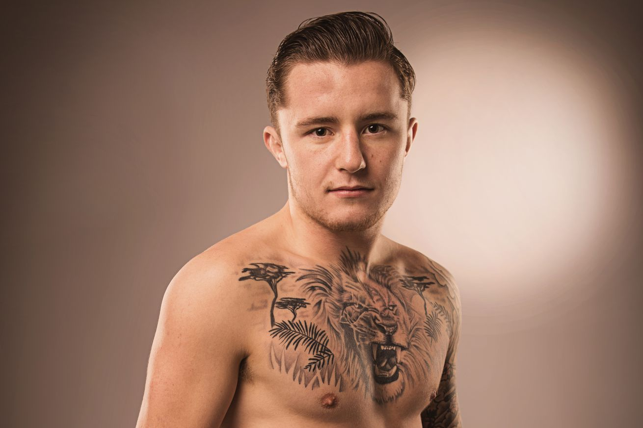 community news, SBG prospect James Gallagher signs with Bellator