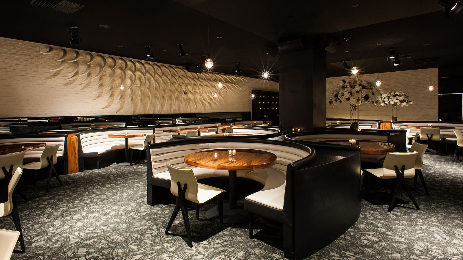 stk is westwood 39 s newest clubby steakhouse eater la. Black Bedroom Furniture Sets. Home Design Ideas