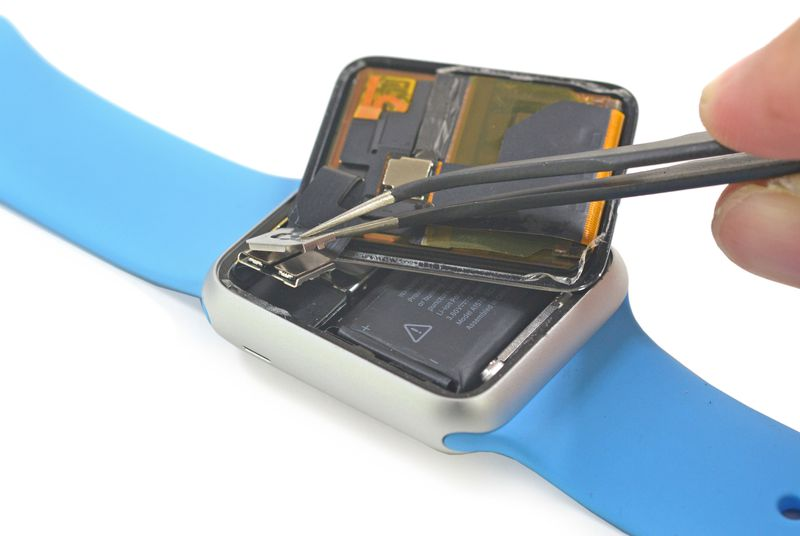 iFixit is tearing down the Apple Watch as we speak