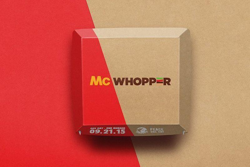 McDonalds politely declines Burger King's offer of world peace