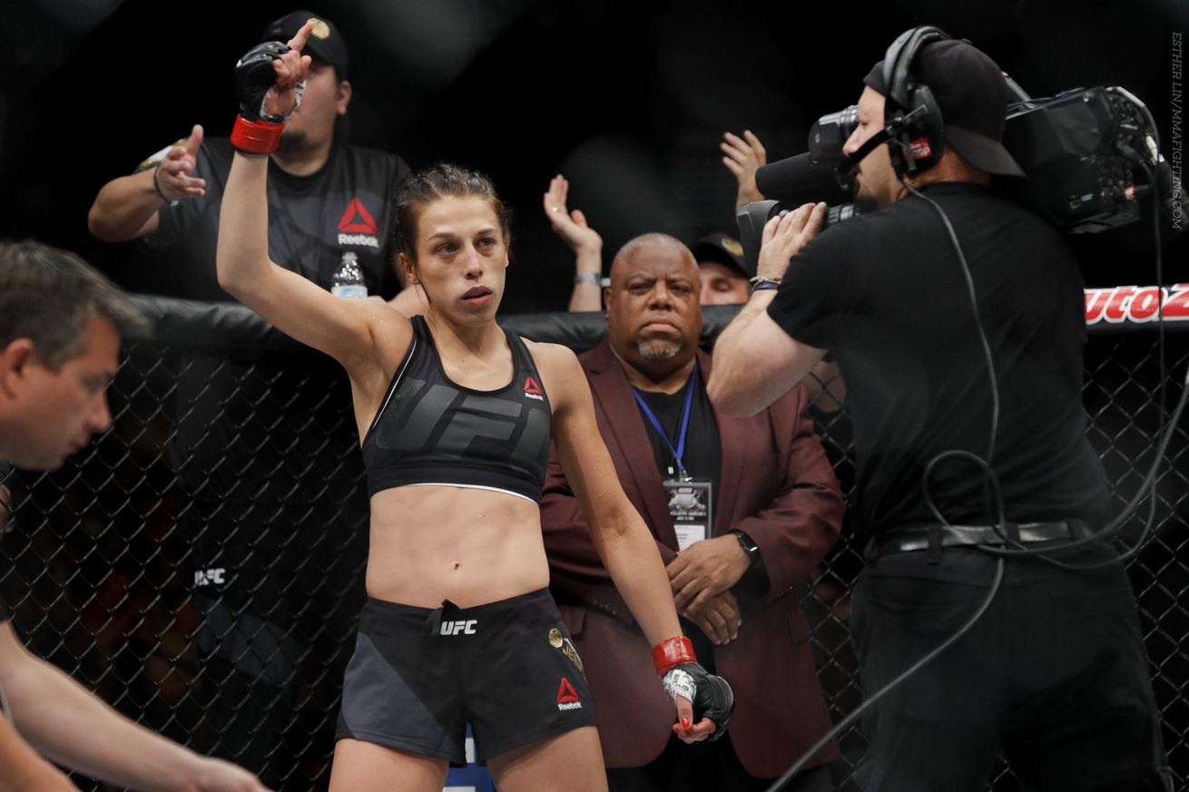 community news, Joanna Jedrzejczyk wants to defend strawweight title once more in 2016 before possible move to flyweight