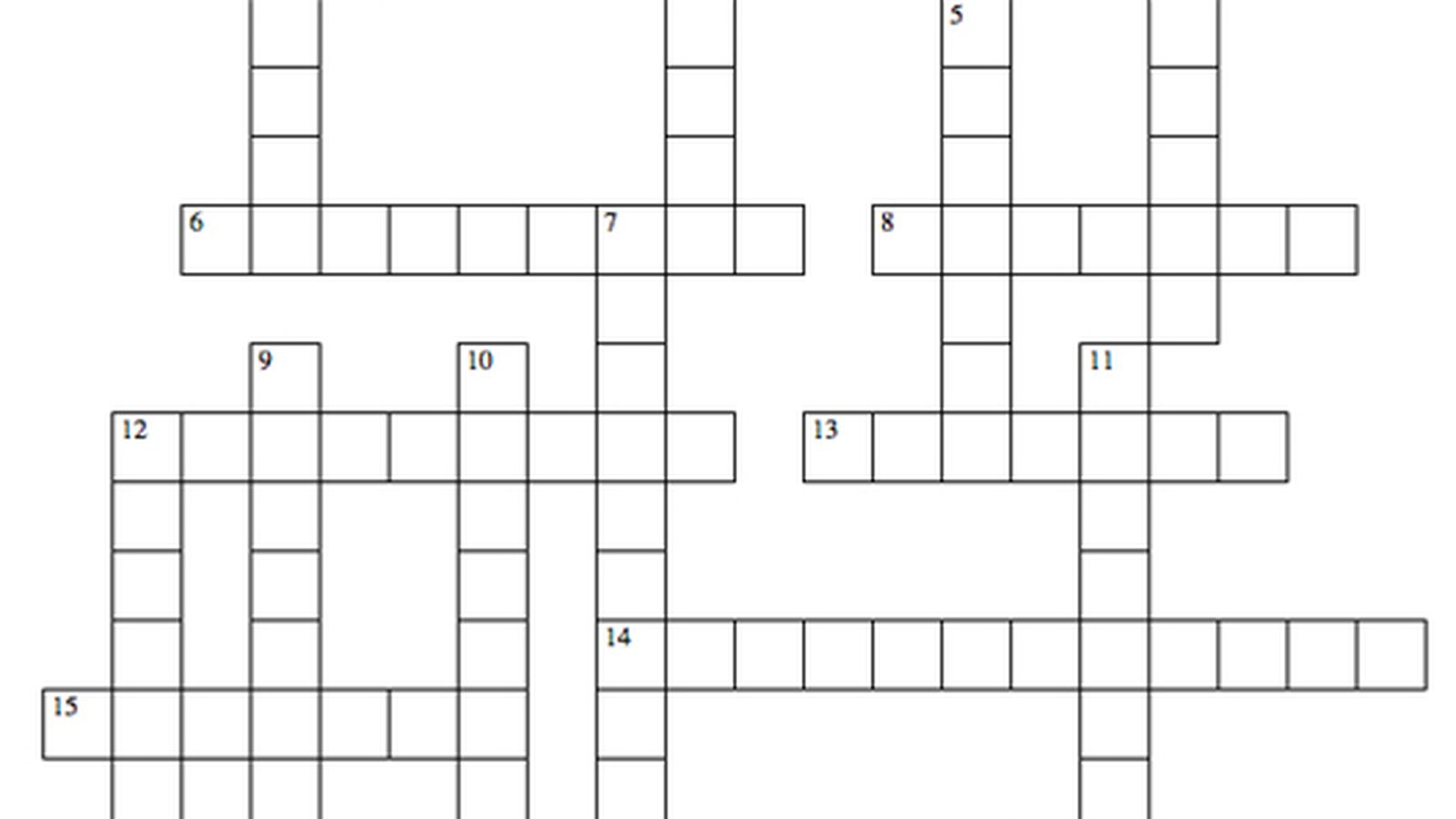 The New York Dining And Nightlife Crossword Puzzle Eater Ny