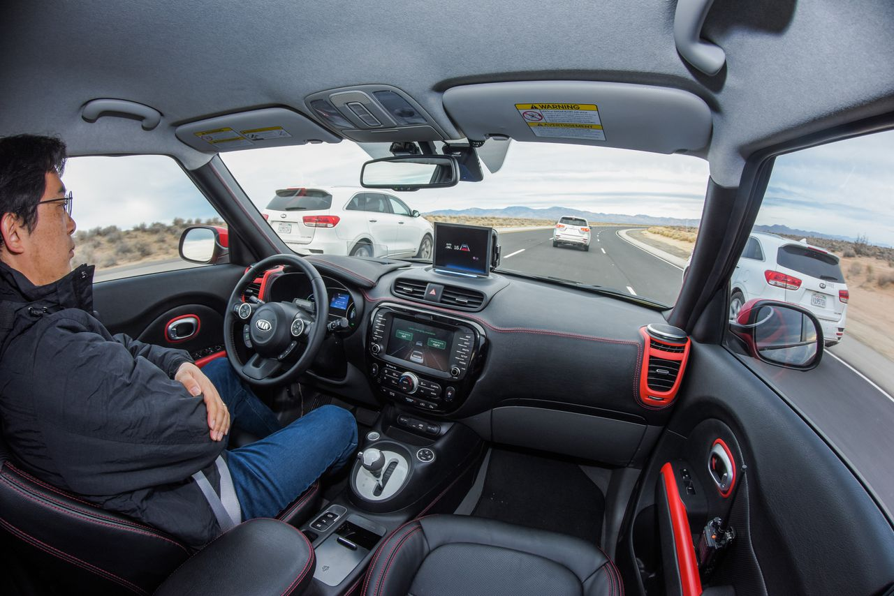kia launches drive wise brand to build self driving cars by 2030 the verge. Black Bedroom Furniture Sets. Home Design Ideas