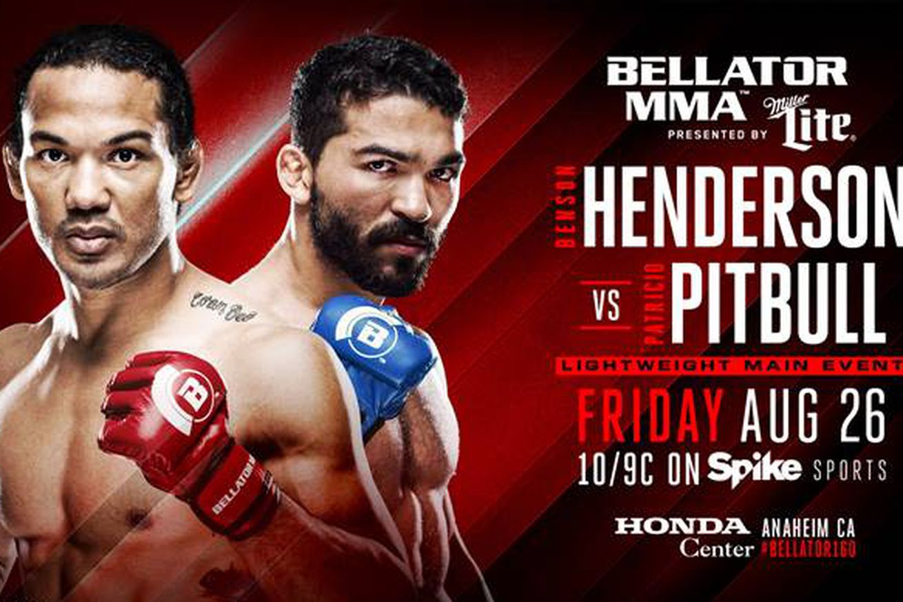 community news, Bellator 160 results: LIVE Henderson vs Pitbull streaming play by play updates TONIGHT on Spike TV