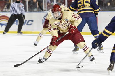 Hockey East: Reaction - Big Second Period Carries BC Past UNH