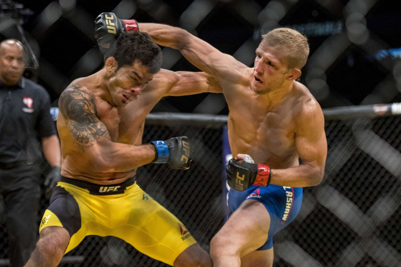 community news, TJ Dillashaw vs Raphael Assuncao 2 full fight video highlights from UFC 200 last night