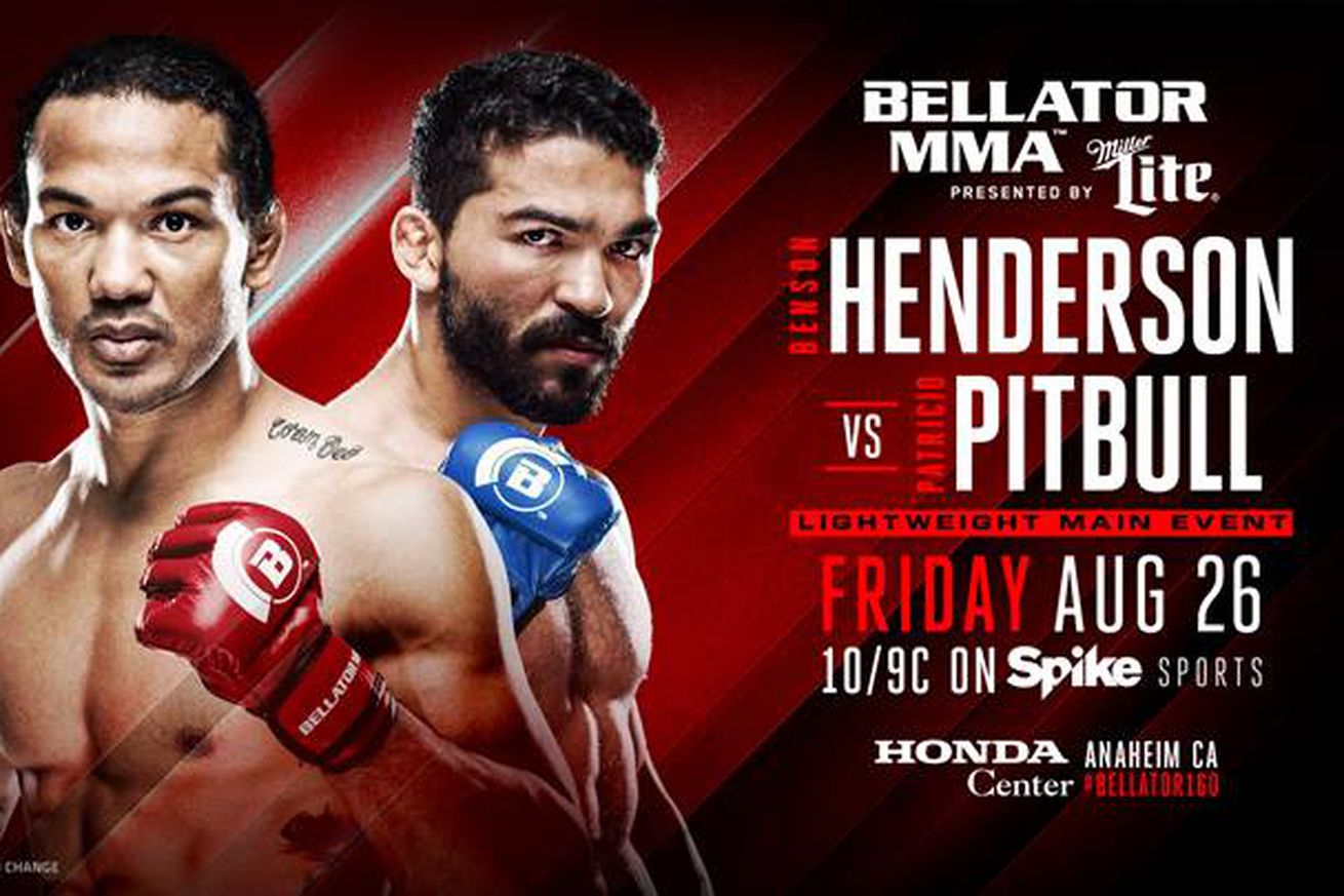 Bellator 160 preview, predictions for Henderson vs Pitbull on Spike TV