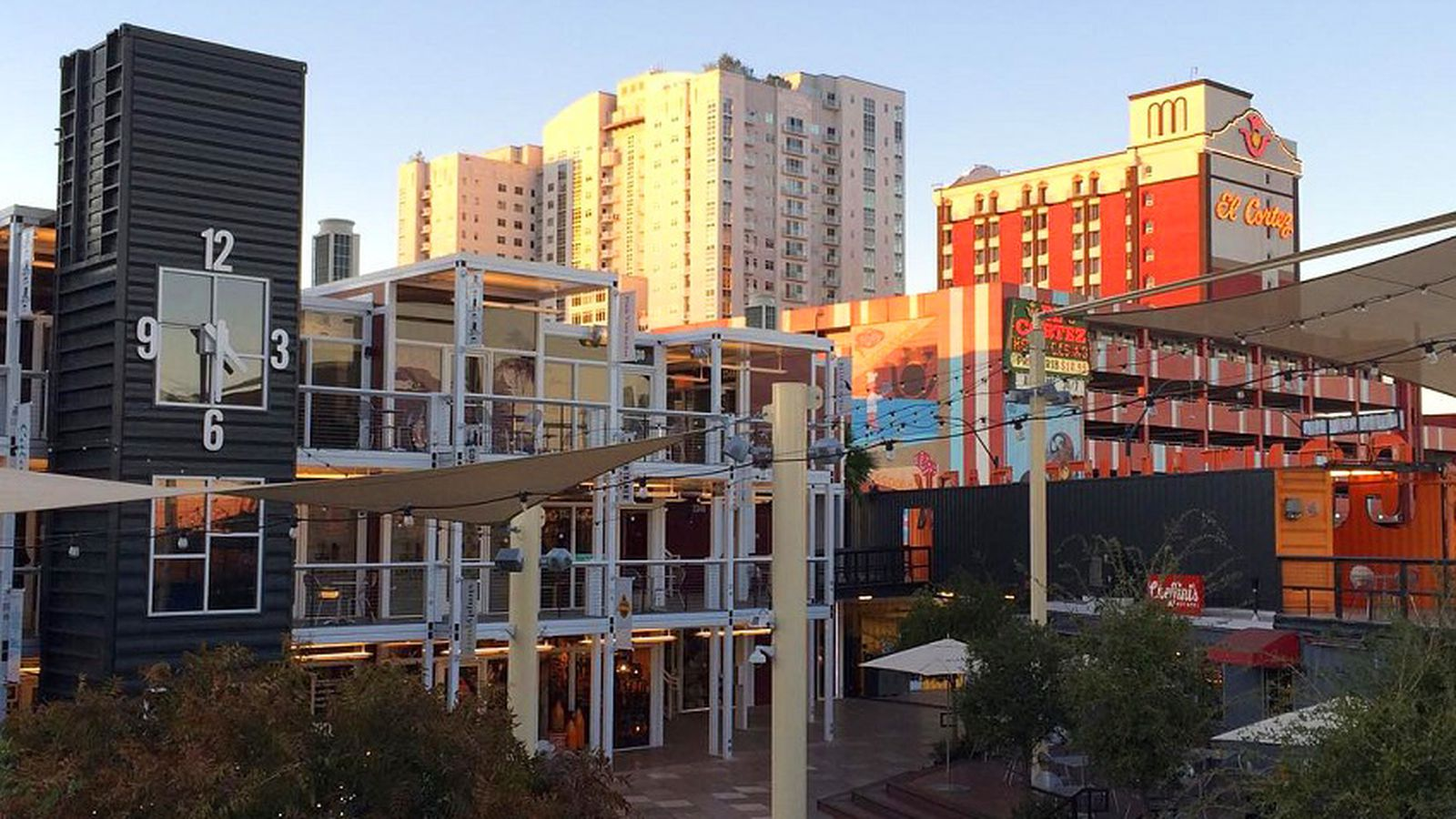 Sasasweets want you to get stoned n baked at container park eater vegas - Container homes las vegas ...