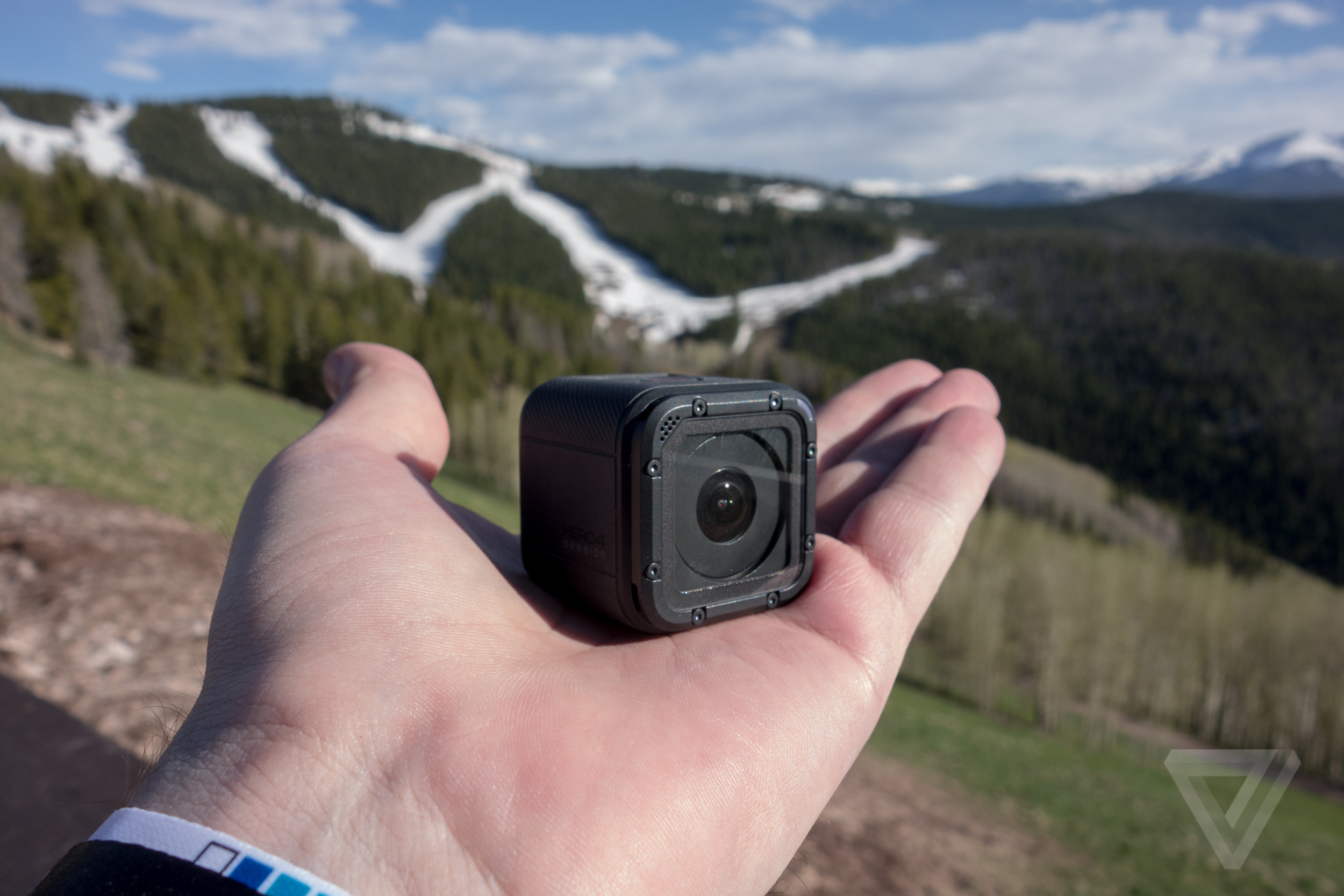 Gopro S Hero 4 Session Is Its Smallest Camera Ever The Verge