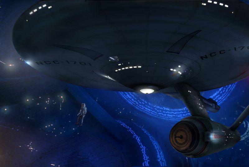 Neil deGrasse Tyson says the Enterprise would destroy the Millennium Falcon