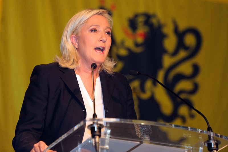 Le Pen's been having a good couple weeks