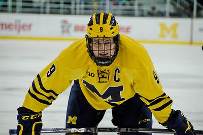 "BIG10: Michigan's Andrew Copp ""week To Week"" With Upper Body Injury"