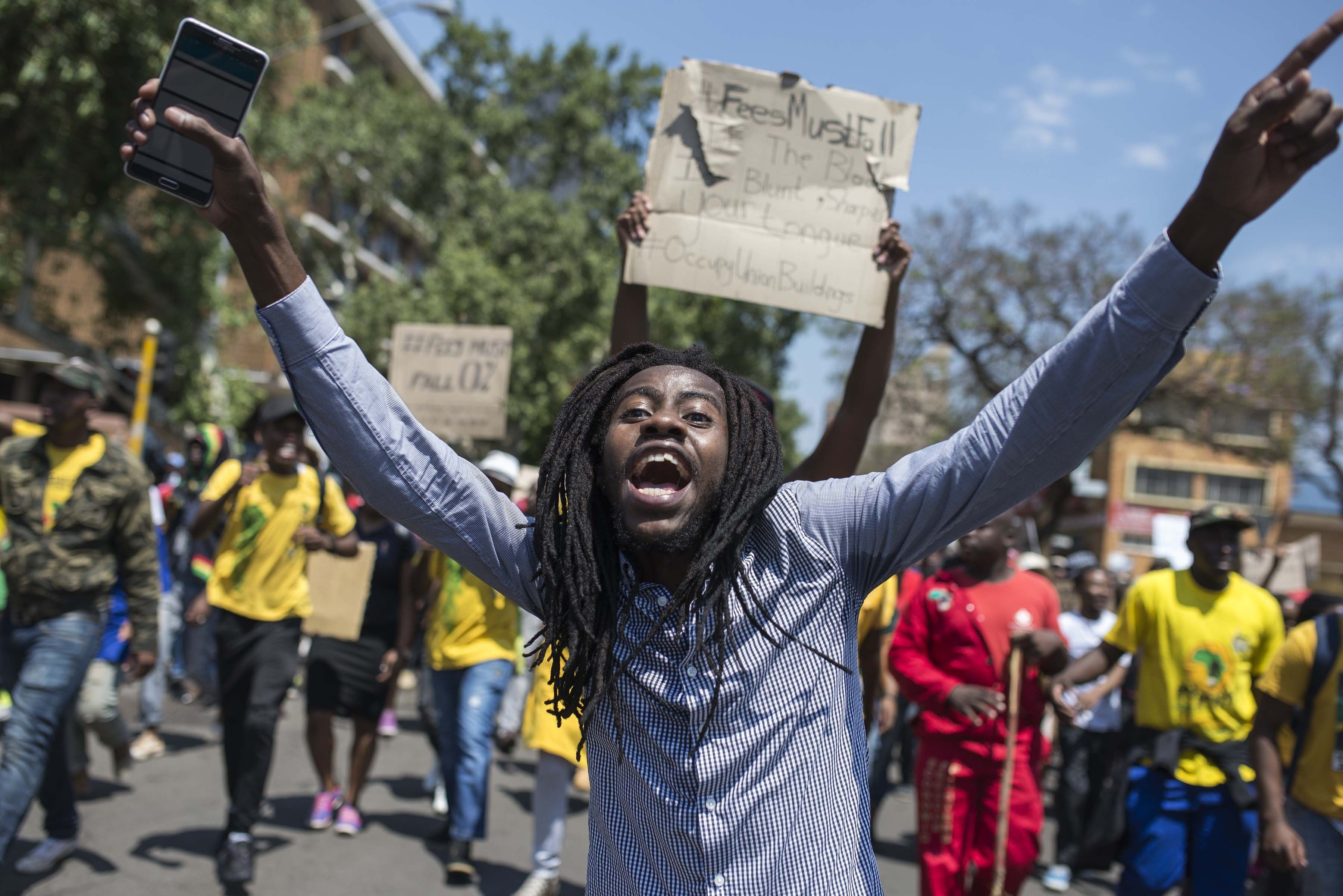 South Africa's huge student protests, explained - Vox