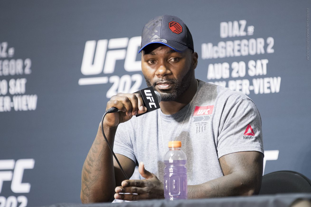 community news, Anthony Johnson not worried about Jon Jones stealing title shot: 'He can sit back and wait