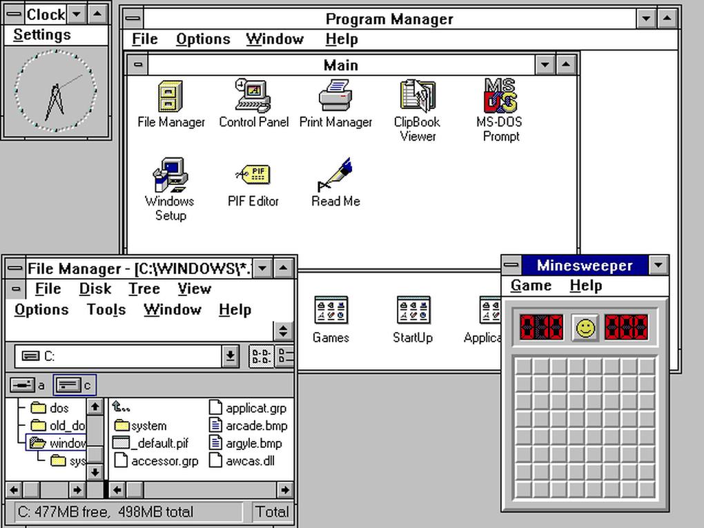 Windows 3.0 (1990)