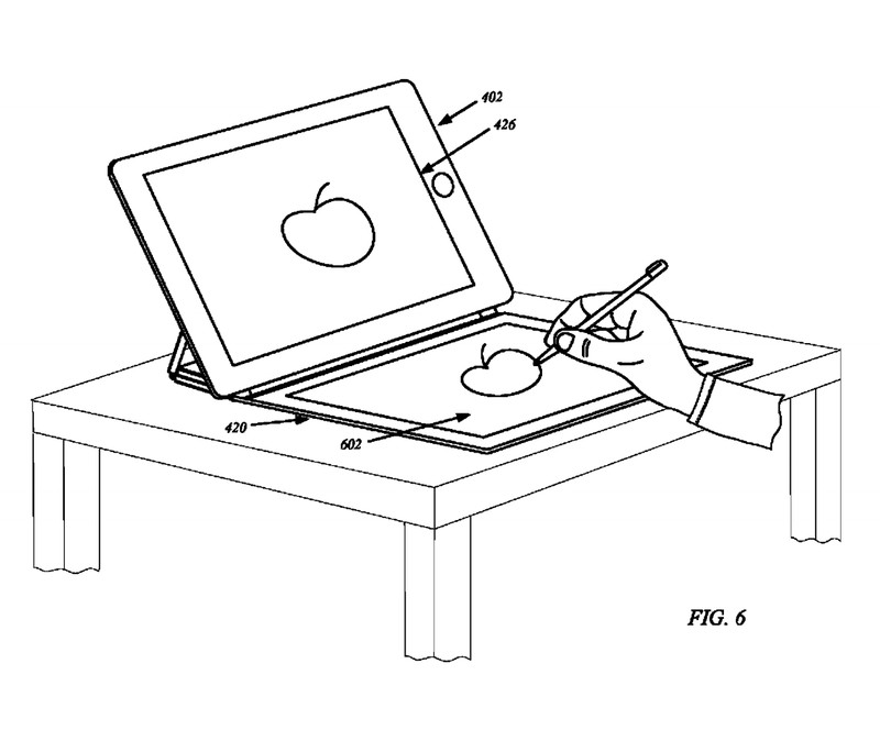 iPad cover patent