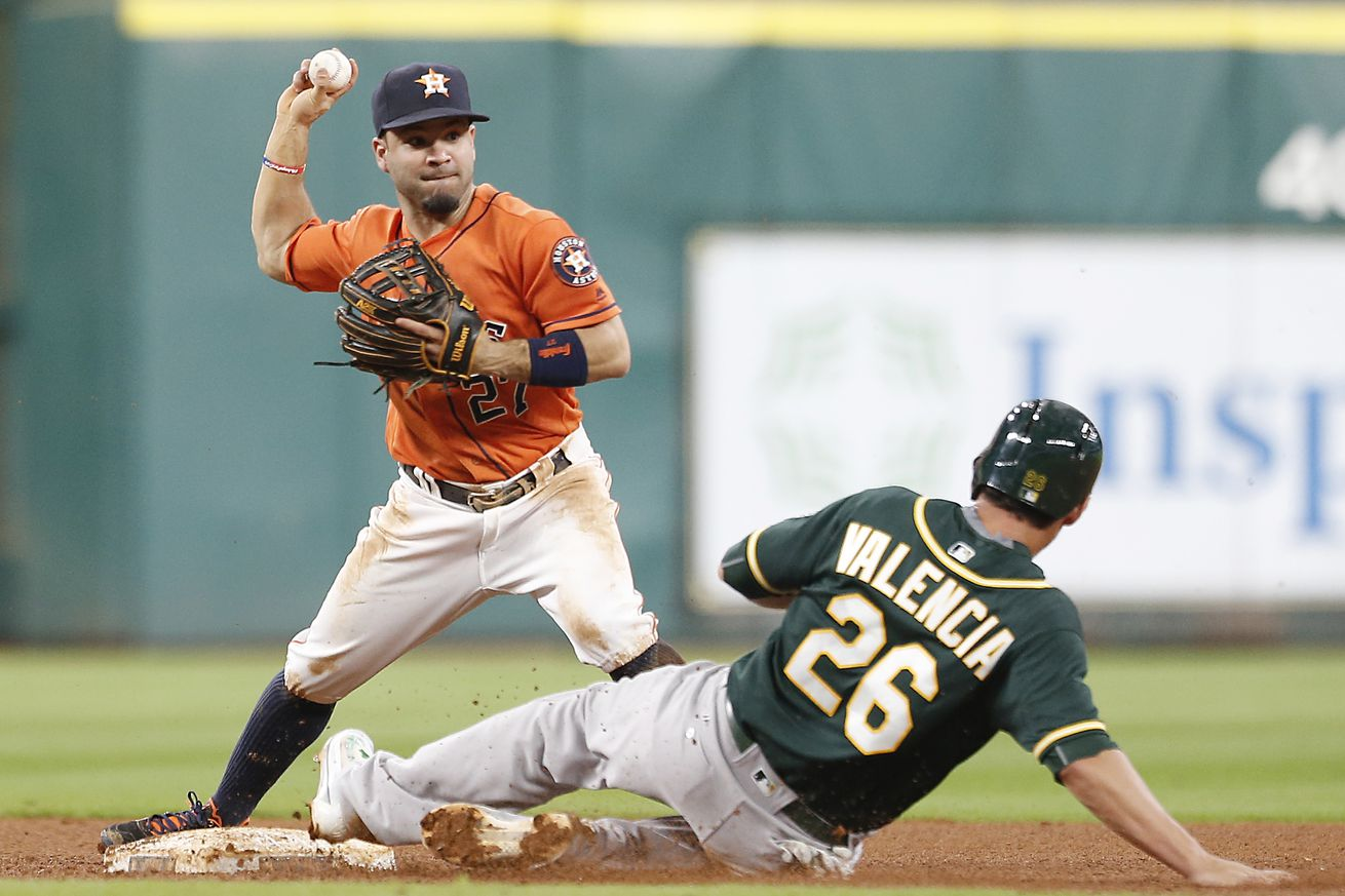 Astros' pitchers combine to 4-hit A's in win