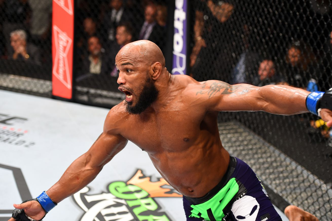 Yoel Romero still awaiting B sample results on alleged drug test violation