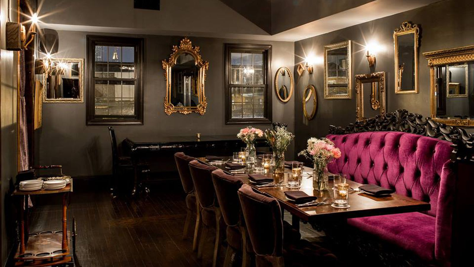 The 10 hottest baltimore restaurants right now april 2015 for Best private dining rooms in baltimore