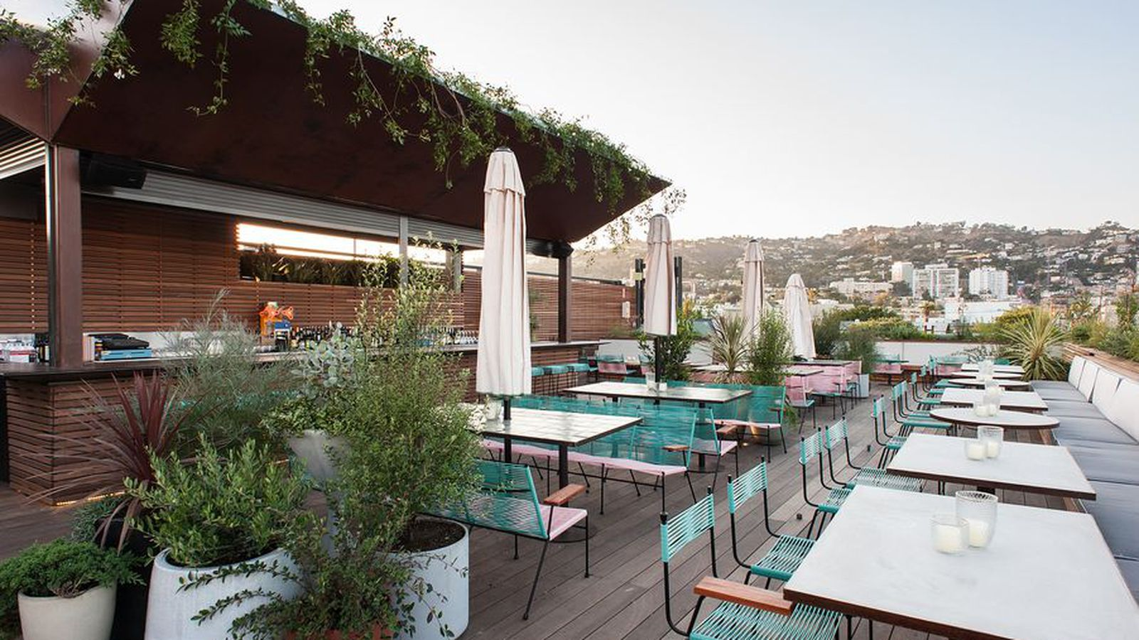 Outdoor Dining Restaurants In Los Angeles, Spring 2016