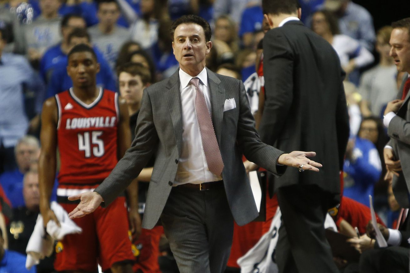 Louisville schedules press conference with Pitino, others