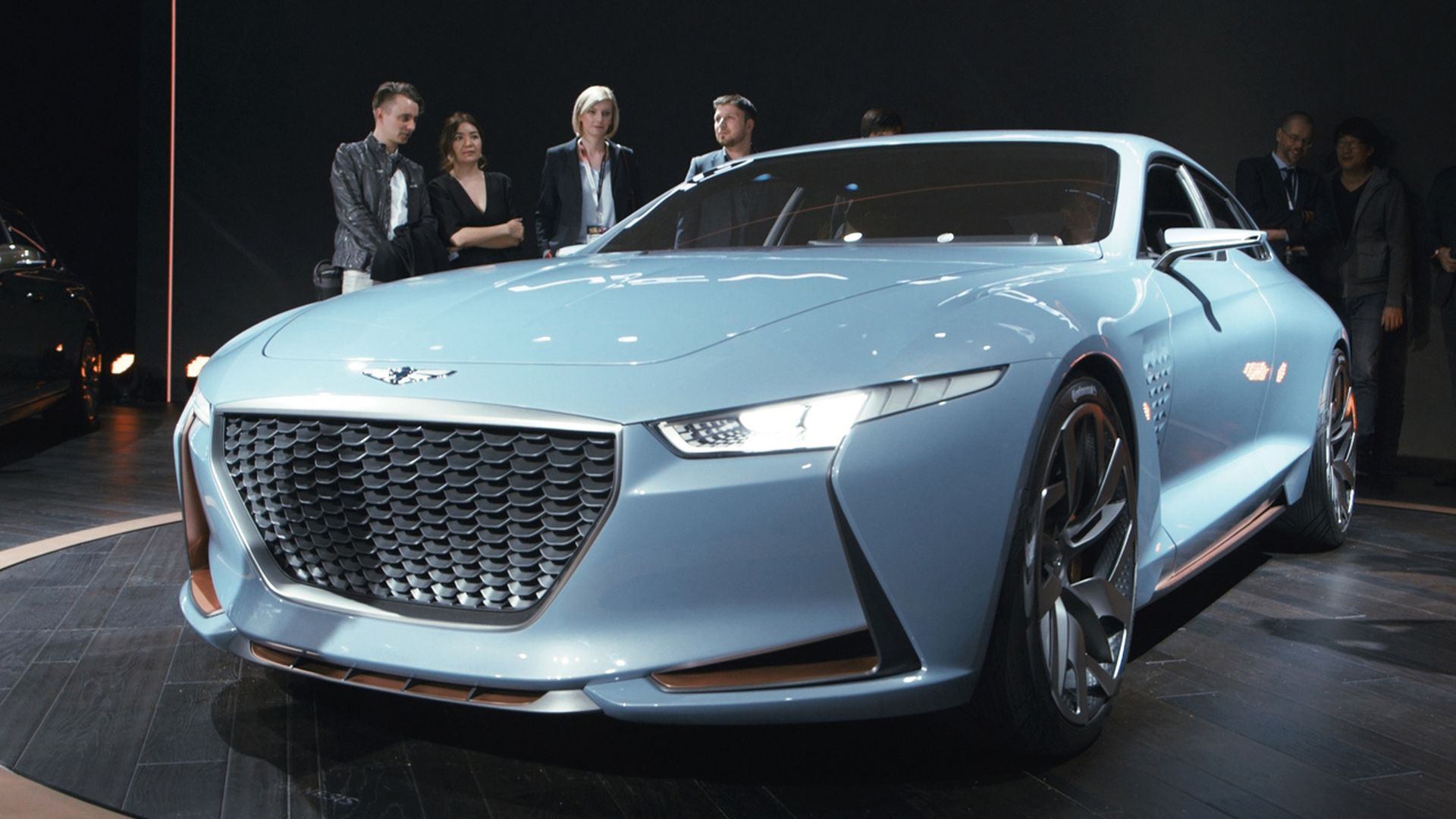 Genesis New York Concept Is A Sports Sedan That Ll Make You Look Twice The Verge